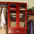 John Louis Inc. Door Set; Red Mahogany