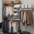 Orginnovations Inc Arrange a Space Best Closet Shelving System I; 84'' H x 96'' W x 11.75'' D