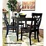 Carolina Cottage Essex Dining Chair; Antique Black