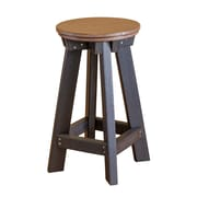 Little Cottage Company 26'' Bar Stool; Tudor Brown