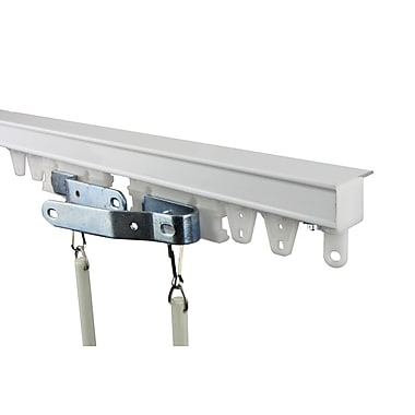 Rod Desyne Commercial Ceiling Curtain Track Kit; 96''