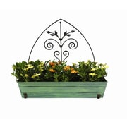 ACHLA Rectangular Planter box; 24'' H x 18'' W x 9'' D