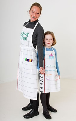 Doodle by Stitch Child Cotton Apron and Fabric Pen Set