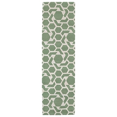 Kaleen Revolution Mint Area Rug; 3' x 5'