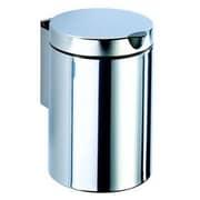 Geesa by Nameeks Standard Hotel 0.8 Gallon Manual Metal Trash Can
