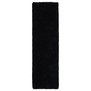 Kaleen Posh Black Area Rug; 9' x 12'