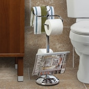 Better Living Products Free Standing Toilet Valet