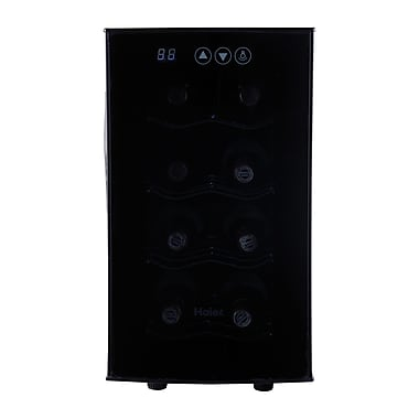 Haier 8 Bottle Single Zone Thermoelectric Wine Refrigerator