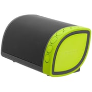 Nyne Cruiser Portable Bluetooth Speaker, Grey/Green