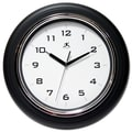 Infinity Instruments 12 1/2in. Deluxe Analog Wall Clock, Black