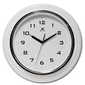 Infinity Instruments 12 1/2in. Deluxe Analog Wall Clock, White