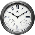 Infinity Instruments 18 1/2in. Camelot Analog Wall Clock
