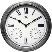 Infinity Instruments 18 1/2 Camelot Analog Wall Clock