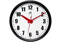 Infinity Instruments 15' Impact Commercial Analog Wall Clock, Black