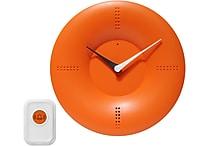 Infinity Instruments 10' Doorbell Wall Clock, Red
