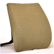 Sacro-Ease Memory Foam Back Cushion with Adjustable Belt; Cappuccino