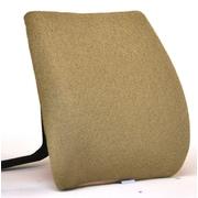 Sacro-Ease Memory Foam Back Cushion w/ Adjustable Belt; Cappuccino