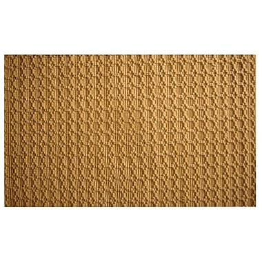 Imports Decor Natural Beehive Rug; 6' x 9'