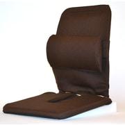Sacro-Ease Bucket Seat Back Cushion; Brown
