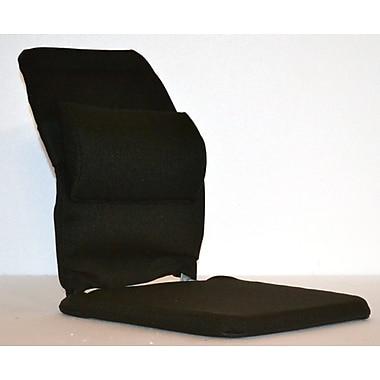 Sacro-Ease Bucket Seat Back Cushion w/ Adjustable Lumbar; Black