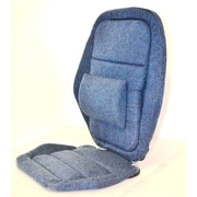 Sacro-Ease Deluxe Back Rest; Blue