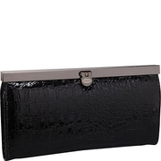 R&R Collections Ladies Wallet; Black