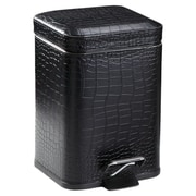 Gedy by Nameeks Vogue Waste Basket; Black