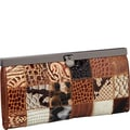R&R Collections Ladies Wallet; Brown