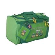 Mercury Luggage Going to Grandma's Children's Duffel Bag; Lime Green/dark green trim
