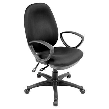 Regency Momentum Mid-Back Office Chair; Black