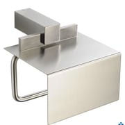 Fresca Ellite Wall Mounted Toilet Paper Holder; Brushed Nickel