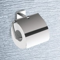 Gedy by Nameeks Minnesota Toilet Paper Holder with Cover in Chrome