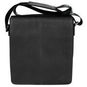 Mancini Colombian Messenger Bag; Black