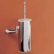 Toscanaluce by Nameeks Wall MountedToilet Brush and Holder; Pink