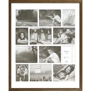 Timeless Frames Decorator's Choice Collage Twelve Photo Frame; Natural Oak