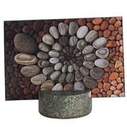 Sea Stones Granite Photo Frame; Light Granite