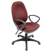 Regency Momentum Mid-Back Office Chair; Burgundy