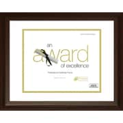 Timeless Frames Englewood Document and Award Frame; Cordovan