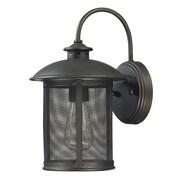 Capital Lighting Dylan 1 Light Outdoor Wall Lantern; 12.5'' H x 7.5'' W x 8.75'' D