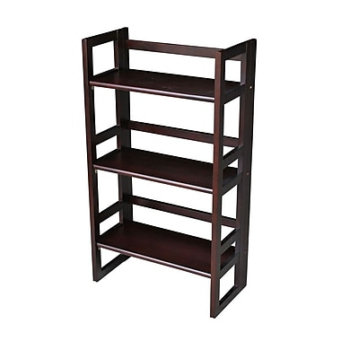 Casual Home Student 3 Tier Folding Bookcase