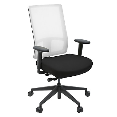 Regency Patriot High Back Mesh Conference Chair; White/Black