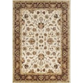 James Bond Alliyah 'Taj Mahal' Vanilla Area Rug; 8' x 10'