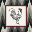 Obvious Place Traditional Rooster Graphic Art on Canvas