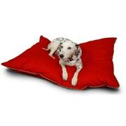 Majestic Pet Poly Cotton Super Value Dog Pet Bed, Red, Large