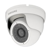 Samsung SDC-7310DC Wired Night Vision Weather-Resistant IR Dome Surveillance Camera, White
