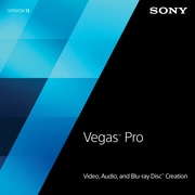 Sony Vegas™ Pro 13 Video Editing Software