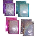 Inkology  Metallic Laser Binder Pencil Cases w/ Mesh Window
