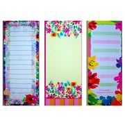 "Inkology Watercolor Magnetic Memo Pad 11"" x 4"", Multi Color (717-3)"