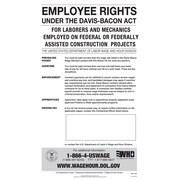 ComplyRight™ Davis-Bacon Act Poster