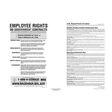ComplyRight™ The Walsh-Healey Public Contracts Act Poster